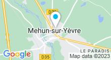 Plan Carte Piscine d'été à Mehun sur Yèvre