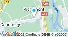 Plan Carte Piscine à Richemont