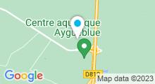 Plan Carte Centre aquatique Aygueblue - Piscine à Saint Geours de Maremne