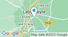 Plan Carte Aire de baignade à Labouheyre