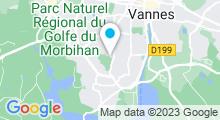 Plan Carte Piscine de Kercado à Vannes