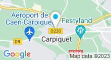 Plan Carte Piscine Sirena à Carpiquet