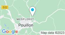 Plan Carte Piscine à Pouillon