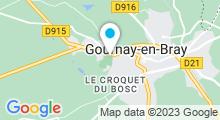 Plan Carte Piscine à Gournay en Bray