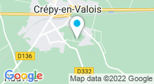 Plan Carte Centre aquatique - Piscine de Crepy en Valois