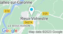 Plan Carte Piscine de Rieux Volvestre