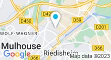 Plan Carte Piscine des Jonquilles à Mulhouse Illzach