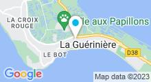 Plan Carte Piscine Océanile à L'Epine