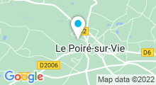 Plan Carte Piscine du Poiré-sur-Vie