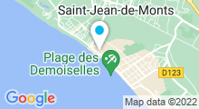 Plan Carte Centre aquatique Oceabul - Piscine à Saint Jean de Monts