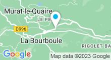 Plan Carte Piscine Sancy'O à La Bourboule