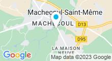 Plan Carte Piscine l'Océane à Machecoul
