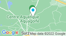 Plan Carte Piscine Aquagolfe à Surzur