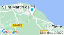 Plan Carte Piscine AquaRé à Saint-Martin-de-Ré