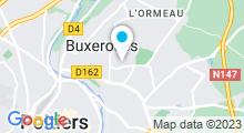 Plan Carte Piscine de la Pépinière à Buxerolles