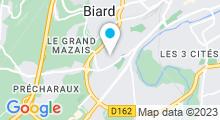 Plan Carte Piscine de Bellejouanne à Poitiers
