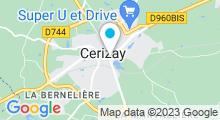 Plan Carte Piscine Aquadel à Cerizay