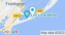 Plan Carte Centre nautique à Frontignan la Peyrade