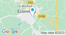 Plan Carte Piscine « Les Bains d'Orée » à Ecommoy