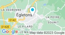 Plan Carte Centre aquarécréatif - Piscine à Egletons