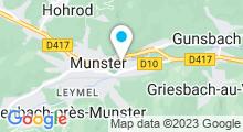 Plan Carte Piscine de Munster