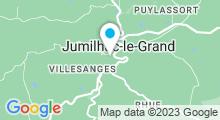Plan Carte Piscine à Jumilhac le Grand