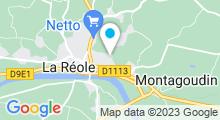 Plan Carte Piscine à La Réole
