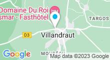 Plan Carte Piscine à Villandraut