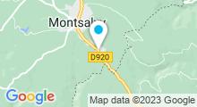 Plan Carte Piscine à Montsalvy