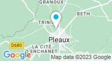 Plan Carte Piscine à Pleaux