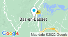 Plan Carte Piscine Lilo à Saint-Maurice-de-Beynost