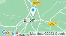 Plan Carte Piscine à Billom