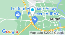Plan Carte Centre aquatique Alre'O - Piscine à Auray