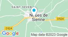 Plan Carte Piscine à Saint Sever Calvados