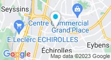 Plan Carte Stade nautique - Piscine à Echirolles