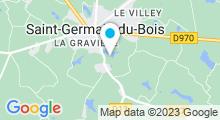 Plan Carte Piscine à Saint Germain du Bois