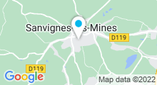 Plan Carte Piscine à Sanvignes les Mines