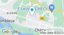 Plan Carte Centre aquatique l'Aquacienne - Piscine à Chécy