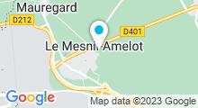 Plan Carte Piscine Plaine Oxygène à Le Mesnil Amelot