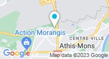 Plan Carte Centre aquatique les Portes de l'Essonne - Piscine à Athis Mons