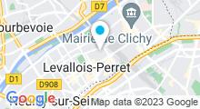 Plan Carte Centre aquatique - Piscine à Levallois