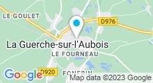 Plan Carte Piscine à la Guerche sur l'Aubois