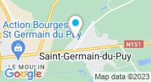 Plan Carte Piscine à Saint Germain du Puy