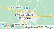 Plan Carte Piscine à Sancoins