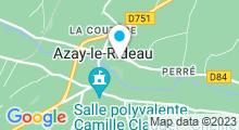 Plan Carte Piscine Le Sabot à Azay le Rideau
