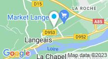 Plan Carte Piscine de Langeais