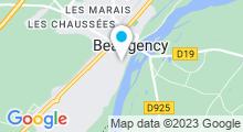 Plan Carte Centre aquatique - Piscine à Beaugency