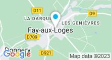 Plan Carte Piscine à Fay aux Loges