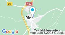 Plan Carte Piscine à Rioz