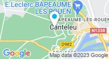 Plan Carte Piscine Aqualoup à Canteleu
